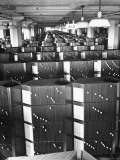 Room Containing the Visible Index Files at the Social Security Board Photographic Print by Thomas D. Mcavoy
