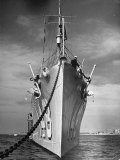 View of a US Navy Vessel Photographic Print by Thomas D. Mcavoy