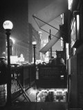 Subway Entrance in Times Square Neighborhood Photographic Print by Thomas D. Mcavoy