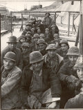 Pittsburgh Steel Workers Photographic Print by Margaret Bourke-White