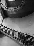 Spiral Staircase in the State Department Building Photographic Print by Alfred Eisenstaedt