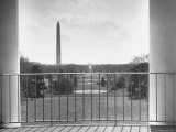 View from Balcony of the White House Photographic Print by Thomas D. Mcavoy