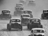 Semi Pro Stockcar Racing Reproduction photographique par Stan Wayman