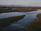 The Big Hole River Flows Through Prairie Land Photographic Print by Sam Abell