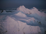 The Spectacular, Snow-Covered Peaks of the Olympic Mountains Photographic Print by Sam Abell