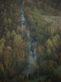 Aerial View of Bull Run Near the Famous Civil War Battlefield Photographic Print by Sam Abell