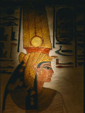 Painting Located in the Tomb of Nefertari Fotografisk tryk af Kenneth Garrett