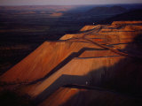 The Argyle Diamond Mine in the Eastern Kimberley, Western Australia, Opened in 1985 Photographic Print by Sam Abell