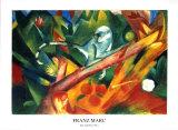 The Monkey Láminas por Franz Marc