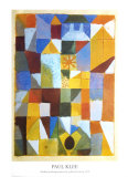 Composition with Yellow Posters av Paul Klee