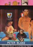 Galerie Claude Bernard, c.1984 Keräilyvedos tekijänä Peter Blake