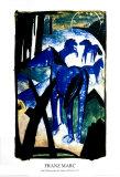 The Blue Horse Posters af Franz Marc