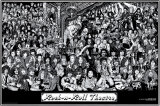 Rock & Roll Theatre Print by Howard Teman