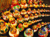 Matryoshka Dolls for Sale, Odesa, Ukraine Lámina fotográfica por Jonathan Smith