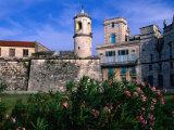 The Old Walled Fortress City of Old Havana, Havana, Cuba Fotografisk trykk av Greg Johnston