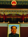 Portrait of Mao Zedong Above Gate of Heavenly Peace Bejing, China Photographic Print by Phil Weymouth