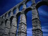 Section of Aqueduct of Segovia, Segovia, Spain Fotografie-Druck von Damien Simonis