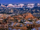Winter Time in Bryce Canyon National Park, Bryce Canyon National Park, Utah, USA Impressão fotográfica por Carol Polich