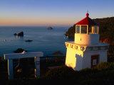 Trinidad Head Lighthouse, Trinidad, California, USA Photographic Print by Stephen Saks