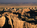 Valley from Pinnacles Overlook, Badlands National Park, South Dakota, USA Photographic Print by Stephen Saks