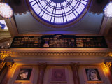 Interior of Manchester Royal Exchange Building, Manchester, England Fotoprint van Mark Daffey