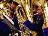 Band of Tuba Musicians, Macau, China Fotografie-Druck von Richard I'Anson