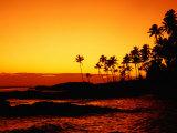 Sunset Over Paradise Beach, Upolu, Samoa, Upolu Reproduction photographique par John Banagan