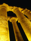 Colonnade of Amenophis II at Temple of Luxor, Luxor, Egypt Photographic Print by Wayne Walton