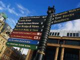 Quayside Sign, Newcastle-Upon-Tyne, Newcastle-Upon-Tyne, England Photographic Print by Doug McKinlay