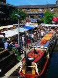 Camden Lock Market, Camden, London, United Kingdom Photographic Print by Setchfield Neil