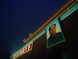 Portrait of Mao Zedong at Gate of Heavenly Peace Bejing, China Photographic Print by Phil Weymouth