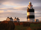 The Hook Head Lighthouse in County Wexford Was Built in the 13th Century Ireland Photographic Print by Doug McKinlay