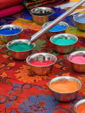 Colored Sand Used by Tibetan Monks for Sand Painting, Savannah, Georgia, USA Photographic Print by Joanne Wells