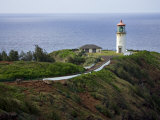 Kilauea Lighthouse, Kauai, Hawaii, USA Photographic Print by Charles Sleicher