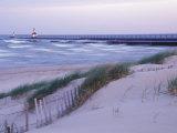 Saint Joseph Lighthouse, Lake Michigan, USA Reproduction photographique par Brent Bergherm