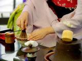 Tea Ceremony, Kyoto, Japan Lámina fotográfica por Shin Terada
