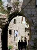 Old City, Jewish Quarter, Jerusalem, Israel Reproduction photographique par Nik Wheeler