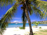 Qualie Beach, Nevis, Caribbean Reproduction photographique par Nik Wheeler