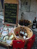 Wine and Cheese Shop, Lake Garda, Bardolino, Italy Stampa fotografica di Lisa S. Engelbrecht