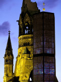 Kaiser Wilhelm Memorial Church, Berlin, Germany Photographic Print by Walter Bibikow