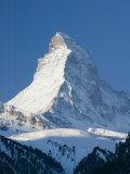 The Matterhorn, Zermatt, Valais, Wallis, Switzerland Lámina fotográfica por Walter Bibikow