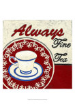 Fine Tea Print by Chariklia Zarris