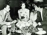 Frank Sinatra with Princess Grace Kelly, 1958 Fotografisk tryk