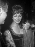 Maria Callas at Royal Opera House, 1965 Stampa fotografica
