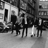 The Yardbirds: Chris Dreja Paul Samwell-Smith Keith Relf Jeff Beck Jim Mccarty, April 1965 Fotografisk tryk