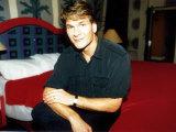 Patrick Swayze, October 1992 Fotografisk tryk