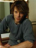 Jon Bon Jovi Pop Rock Star of the Group Bon Jovi, 1995 Fotografisk tryk