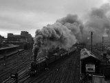 The Flying Scotsman Steam Train Locomotive, 1969 Lámina fotográfica