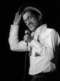 Sammy Davis Junior Junior Singing in Concert, 1982 Photographic Print