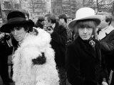 Rolling Stones Brian Jones Keith Richards Stampa fotografica